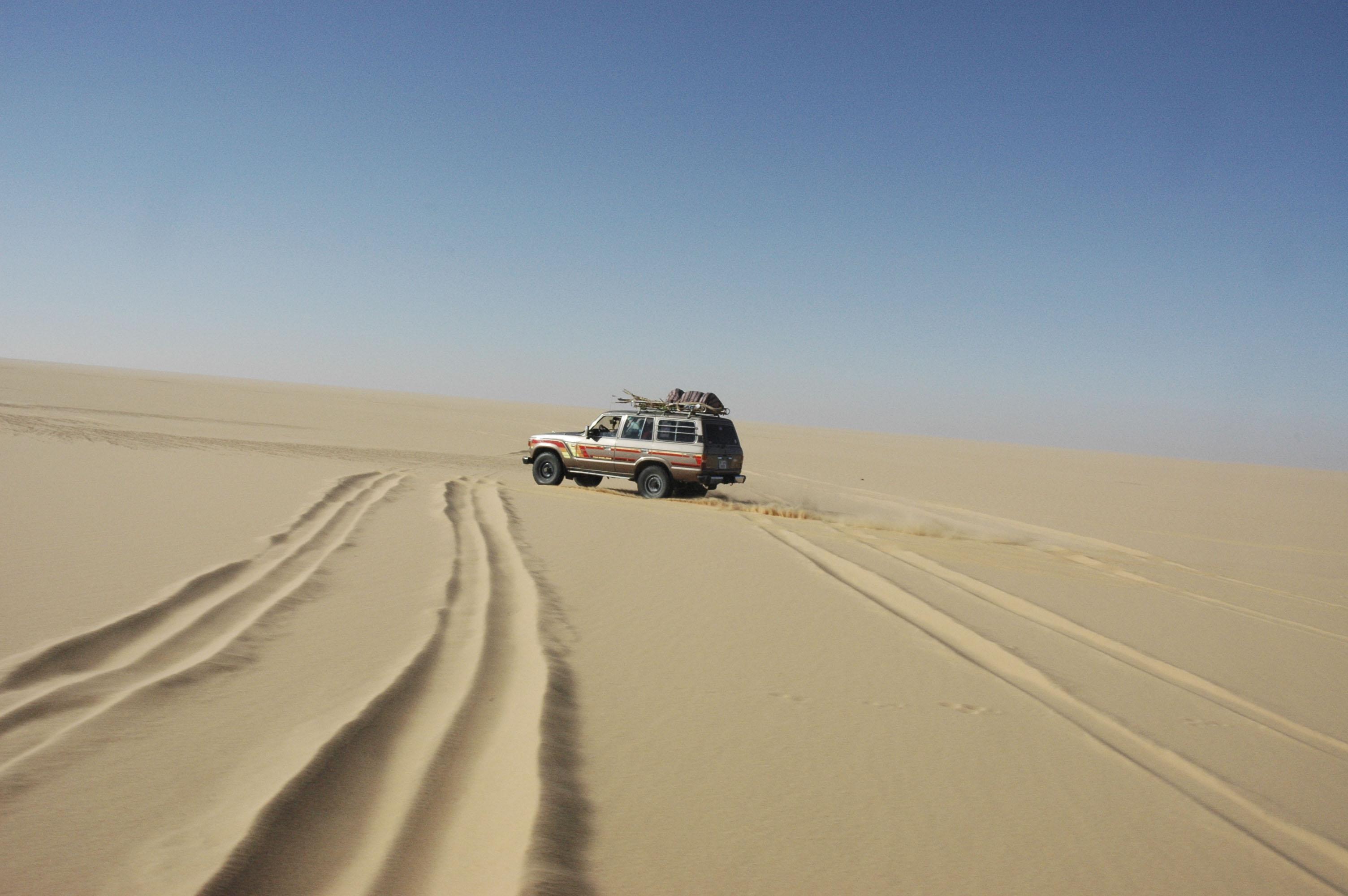 Libia, sahara, 2006